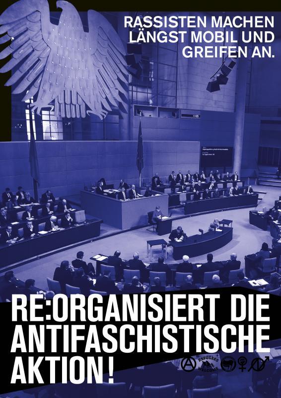 NRW-AVV: Nazis angreifen, Abschiebungen verhindern, Vernetzung ausbauen